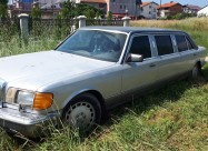 ЛИМО ЛИМУЗИНА MЕРЦЕДЕС 560 СЕЛ Limo Limuzina Merce